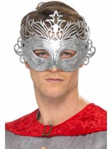 Columbina Silver Mask