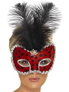 Ladybug Visage Eyemask