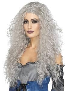 Banshee Wig Long Grey