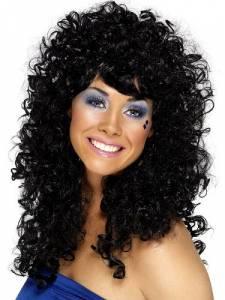 Boogie Babe Black Wig