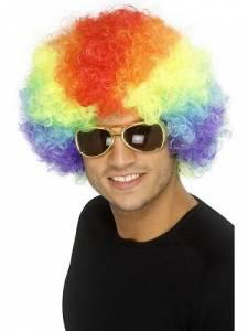 Crazy Clown Wig - Multicolor
