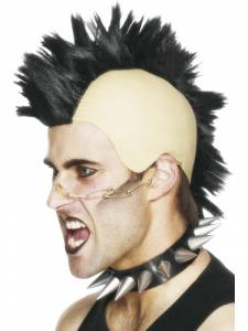 Punk Mohican Wig