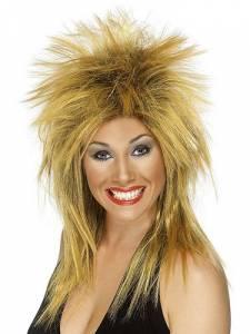 Rock Diva Wig Ginger/black