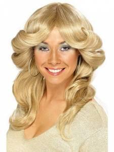 Flick wig blonde