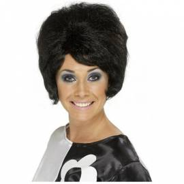 Beehive wig Black