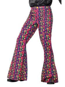 60s Psychedelic Flared Trousers