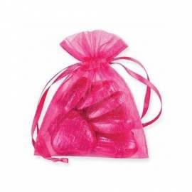 Hot Pink Organza Bags
