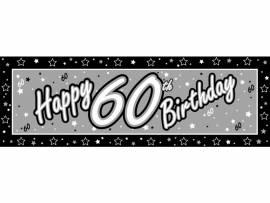 60th black&silver banner