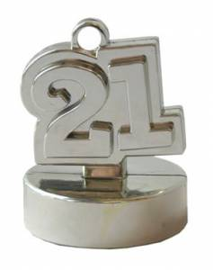 Silver 21st Weights