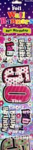 50th Pink Foil
