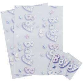 Baby Boy Gift Wrap