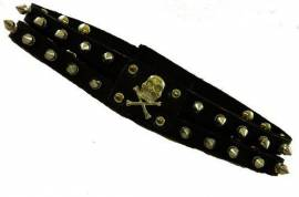 Adjustable Studded Choker