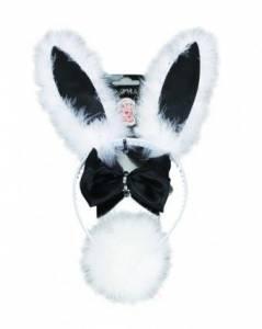 Black & white bunny sET