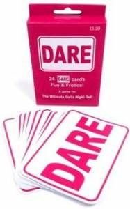 Dare Cards  Pink