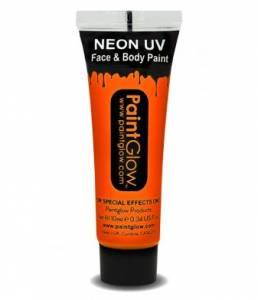 Sunshine Orange UV Body Paint