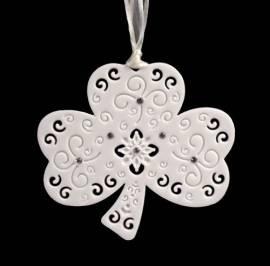 Irish Porcelain Shamrock