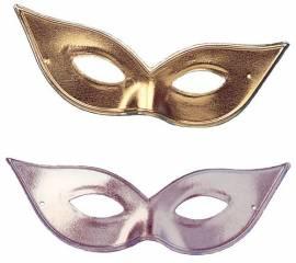 Metallic Gold/Sil Eyemask