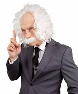 Professor Wig Moustache & Glass