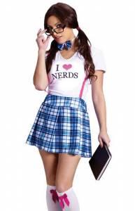 I Love Nerds Costume
