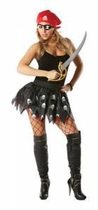 Adult Pirate Girl Tutu Set