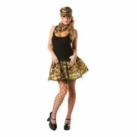 Adult Army Girl Tutu set