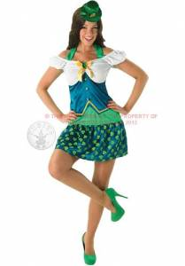 Miss Sexy Leprechaun Costume