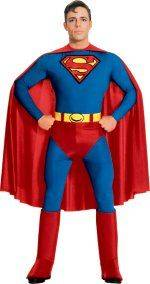 Superman Plain Chest Costume