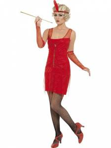 Fiery Flapper Costume