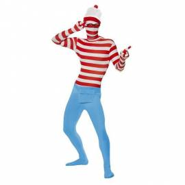 Where's Wally Second Skin  Costume