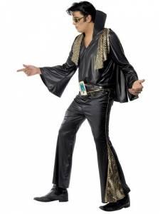 Black Elvis Costume