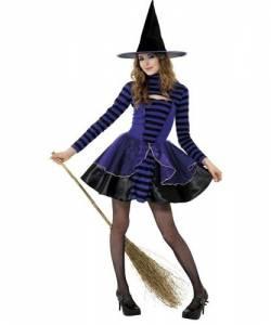 Dark Stripe Fairy Costume