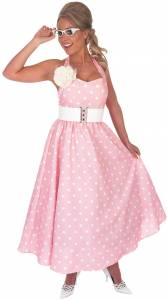 1950's Pink Day Dress