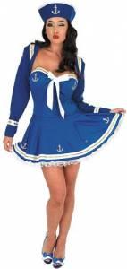Blue Flirty Sailor