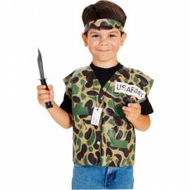 Kids Soldier Dress Up Kit