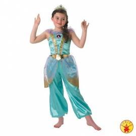Kids Jasmine Glitter Costume