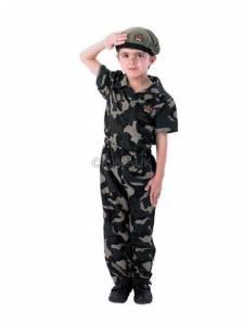 Kids Soldier Boy Costume