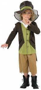 Kids Victorian Pickpocket Costume