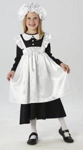 Kids Victorian Maid Costume.