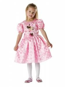 Kids Classic Pink Minnie Mouse Costume