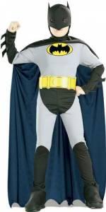 Kids Grey Batman Costume