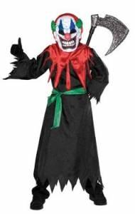 Kids Crazy Clown Costume