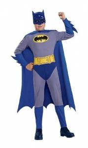 Kids Blue Batman Costume