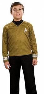 Kids Captain Kirk Costume