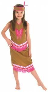 Kids Indian Squaw Costume