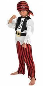 Kids Raggy Pirate Costume
