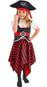 Kids Girl Pirate Costume