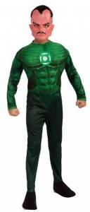 Kids Deluxe Sinestro Costume