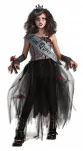 Kids Gothic Prom Queen Costume