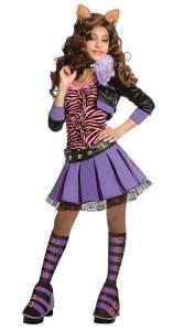 Kids Monster High Clawdeen Wolf Costume