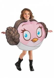 Kids Leia Angry Bird Costume